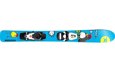 Juniorské lyže Rossignol Roostie Comp Kid 25 B75 blk wht