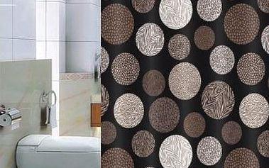 Euromat sprchový závěs Pesaro s atraktivním designem