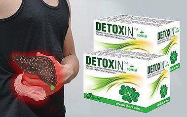 120 tobolek přírodního doplňku stravy Detoxin TM