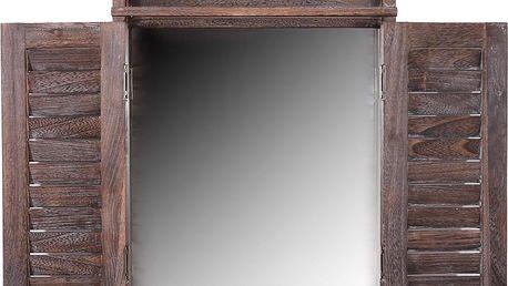 Zrcadlo Shabby Brown - doprava zdarma!
