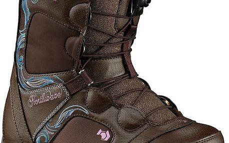 Precizní dámská snowboardová bota Northwave Dahlia brown