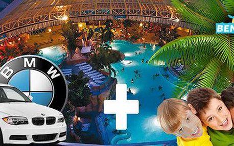 Do aquaparku Therme Erding i mnichovského BMW
