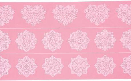 Silikonová zdobící podložka Lace Icing Mould, 39x19,5 cm
