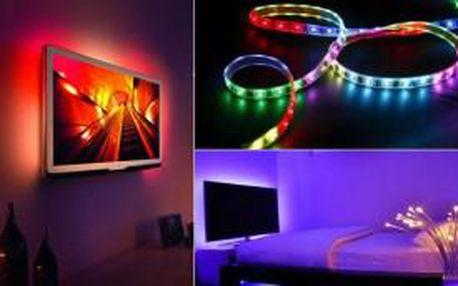 LED pásek 5m s dálkovým ovladačem - dodejte interiéru dokonalý vzhled!