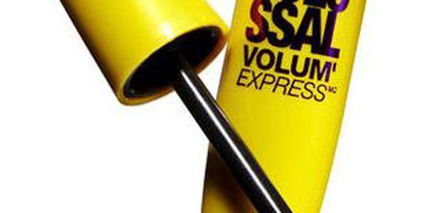 Maybelline Mascara Colossal Volum 10,7ml Řasenka W - Odstín Glam Black