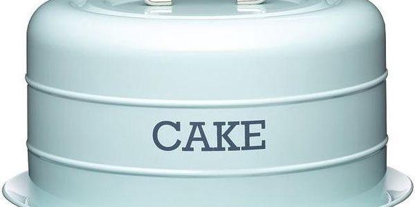 Plechová dóza Cake, modrá