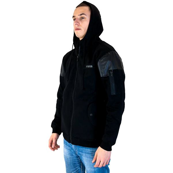 Mikina s kapucí Mishka Dark Mission Zip-Up Hoody Black