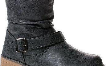 Dámské pohodlné zimní kotníkové boty