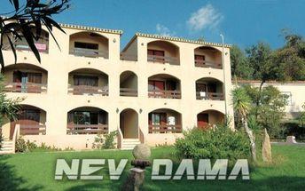 Residence I Delfini, Korsika, Francie, vlastní doprava, bez stravy