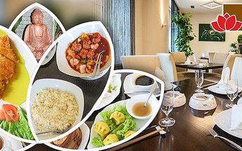 Exotické menu pro 2 v Lotos Restaurant