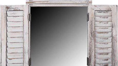 Zrcadlo Shabby White - doprava zdarma!