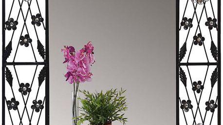 Nástěnné zrcadlo Baroque Flower, 80x60 cm - doprava zdarma!