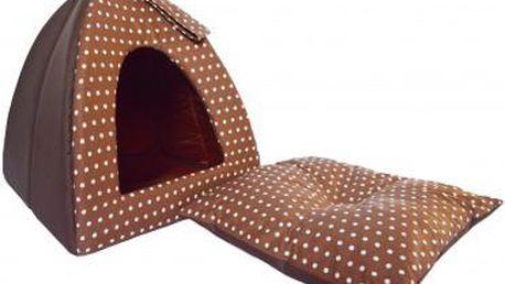 Kukaň IGLOO - luxusní pelíšek pro Vašeho miláčka. Poštovné v ceně!