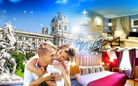 3DENNÍ pobyt pro DVA ve 4* Trend Hotel Ananas v historickém centru VÍDNĚ včetně SNÍDAŇOVÝCH BUFETŮ!