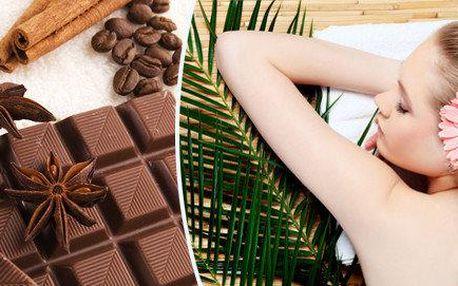 Partnerská čokoládovo-lávová masáž