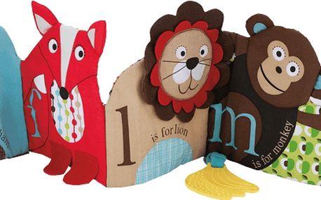 SkipHop ABC Zoo kouzelná knížka Aktivity