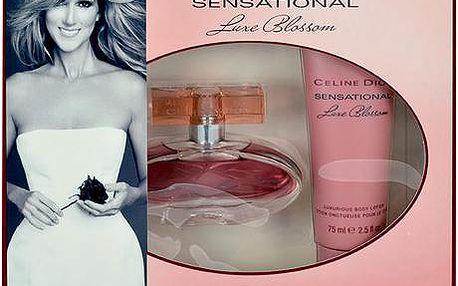 Celine Dion Sensational Luxe Blossom dárková sada - Edp 30ml + 75ml tělové mléko