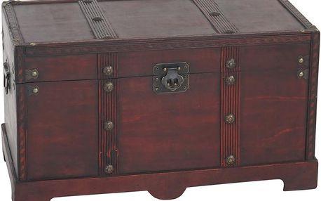 Truhla Shabby Vintage, 24x46x23 cm