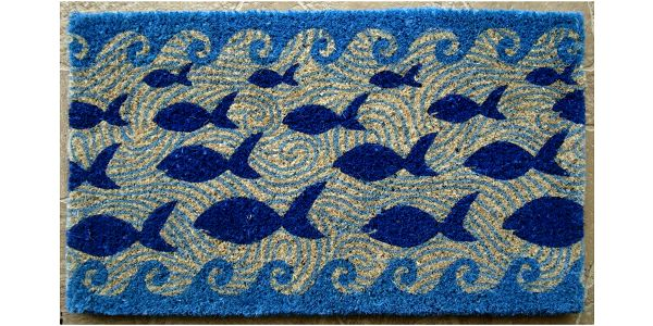 Rohožka Fish, 73x43 cm