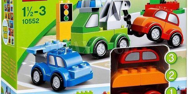 Lego Duplo Tvořivá autíčka