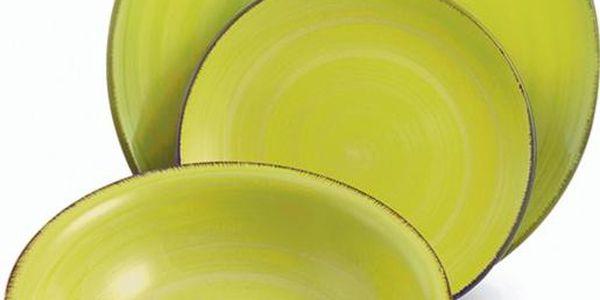 Sada velkých talířů Baita Verde, 6 ks