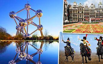 4denní zájezd pro 1 osobu do Belgie