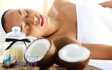 Peelingová kokosová a relaxační citrusová masáž