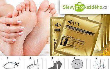 Exfoliační ponožky - hebké nohy během jednoho týdne