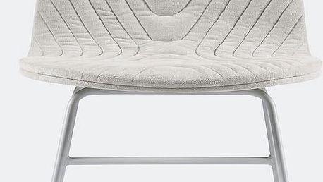 Židle Mannequin Metal, krémová - doprava zdarma!