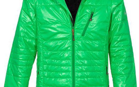 Pánská zelená prošívaná bunda Bergson