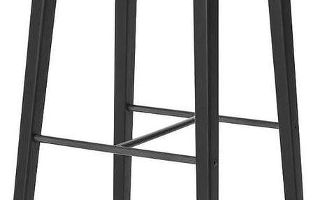 Barová židle NY11, černá - doprava zdarma!