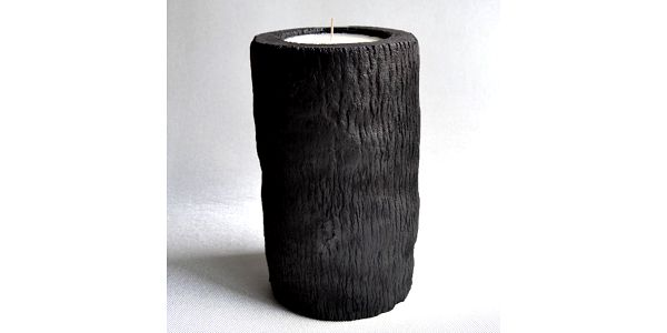 Palmová svíčka Burned s vůní vodního květu, 60 hodin hoření - doprava zdarma!