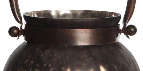 Stojan na svíčku Kito Copper Mat, 13 cm