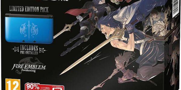 Herní konzole Nintendo 3DS XL Blue + Fire Emblem Limited