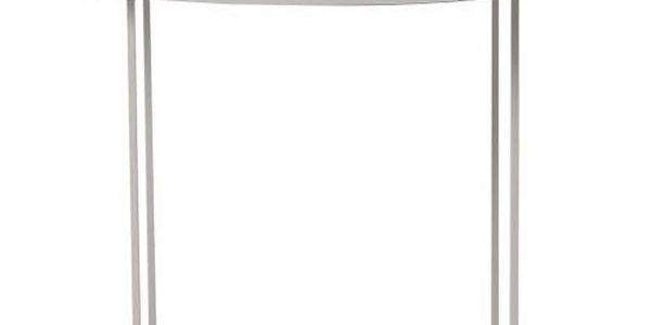 Kávový stolek Duke Medium 70x45 cm, šedý - doprava zdarma!