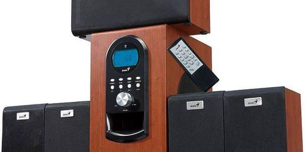 Genius SW-HF 6000 5.1 (31730022101) imitace dřeva + Doprava zdarma