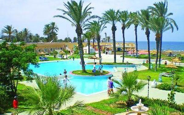 LES PALMIERS, Tunisko, letecky, polopenze