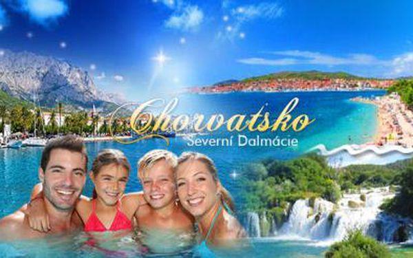 8DENNÍ pobyt pro 1 osobu v CHORVATSKU! Letní dovolená v Severní Dalmácii - Vodici v penzionu Katka!