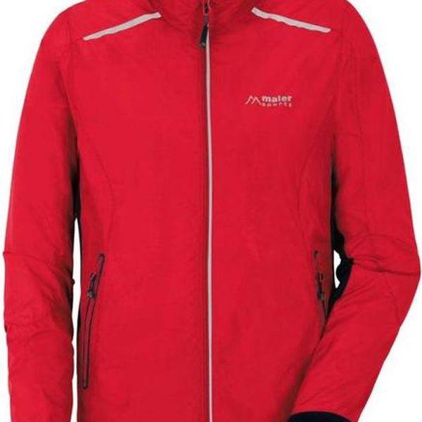 Pánská červená sportovní bunda Maier