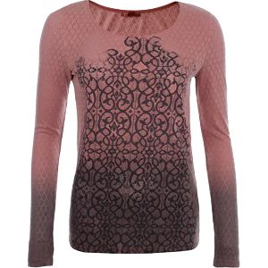 Dámské korálové tričko s perforací Angels Never Die