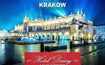 Polsko: 3denní pobyt pro dva v Krakově s wellnes - bazénem a saunou