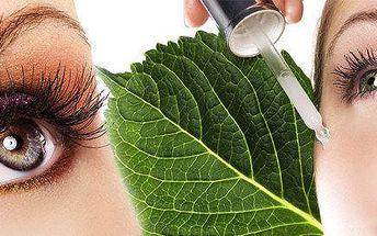Oslnivý pohled - barvení řas, obočí nebo ošetření očního okolí