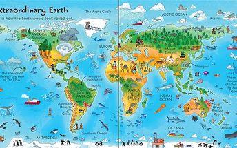 Look Inside Our World pomocí osmdesáti otvíracích okének objevíte mnohé zajímavosti o naší planetě