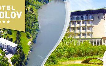 Hotel Medlov***: 3 dny plné wellness a zábavy pro 2 osoby! Polopenze v ceně.