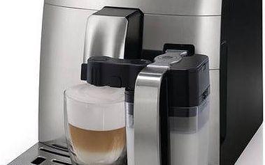 Plně automatické espresso od společnosti Saeco Intelia HD8753/94 černý/ocel
