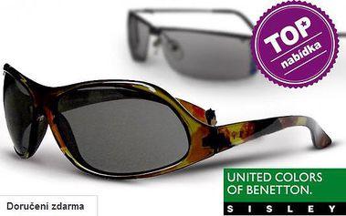 Sluneční brýle Benetton a Sisley pro ženy a muže