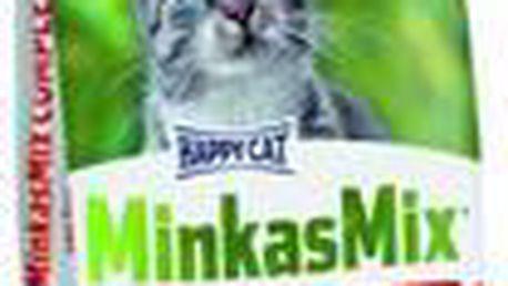 Kompletní krmivo pro dospělé kočky s normální potřebou živin HAPPY CAT MINKAS Complete Geflugel 10kg