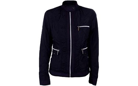 Dámská krátká tmavě modrá bundička na zip Company&Co