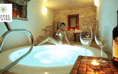 Luxus + vinné wellness pro vás dva na Moravě