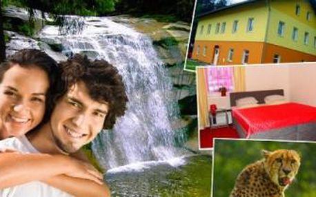 4denní pobyt s polopenzí a saunou v apartmánech u Harrachova v náručí okouzlující horské přírody.